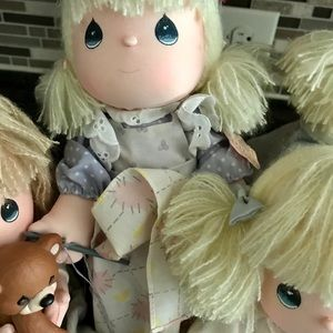 Precious Moments Other - LOT of 4 Vintage Precious Moments Dolls